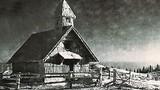 Zaledenela kapelica Marije Snežne leta 1939