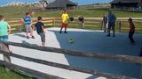 Planšarji igrajo nogomet v prostem času