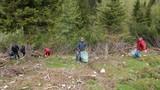 Čiščenje smetišča pri Zelenem ROBU