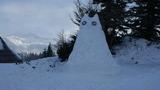 Kup snega je priskrbel Frane Tonin