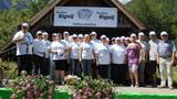 Člani društva Rigelj, komisija in Maja Žagar